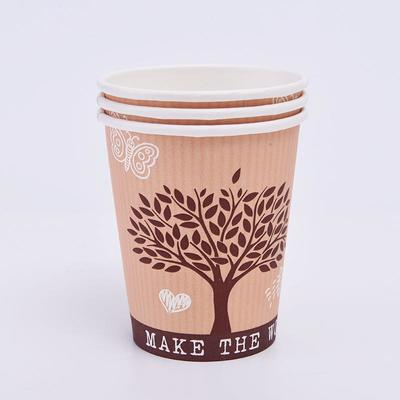 Color Printing Edible Ink Material Coffee Cups Disposable Paper