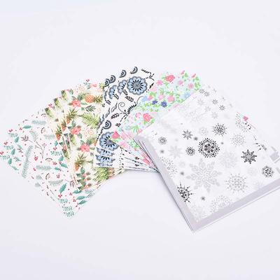Advanced Equipment With Accurate Color Flower Dinner Napkins Set
